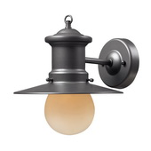 Graphite Outdoor Sconce - MEK5481