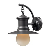Graphite Outdoor Sconce - MEK5482