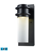 Matte Black Outdoor Sconce - MEK5497