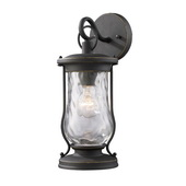 Matte Black Outdoor Sconce - MEK5498