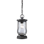 Matte Black Outdoor Pendant - MEK5499