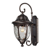 Regal Bronze Outdoor Wall Sconce - MEK5505