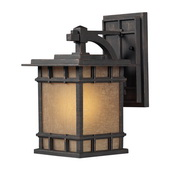 Weathered Charcoal Outdoor Wall Sconce - MEK5508