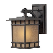 Weathered Charcoal Outdoor Wall Sconce - MEK5509