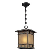 Weathered Charcoal Outdoor Pendant - MEK5511