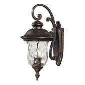 Regal Bronze Outdoor Wall Sconce - MEK5515