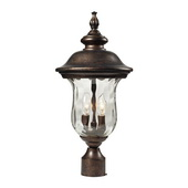Regal Bronze Outdoor Post Light - MEK5516
