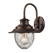 Regal Bronze Outdoor Wall Sconce - MEK5517