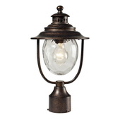 Regal Bronze Outdoor Post Light - MEK5519