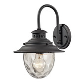 Weathered Charcoal Outdoor Wall Sconce - MEK5524