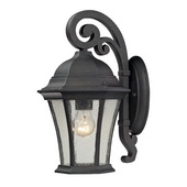 Weathered Charcoal Outdoor Wall Sconce - MEK5527