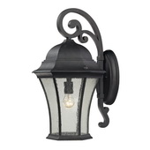 Weathered Charcoal Outdoor Wall Sconce - MEK5529