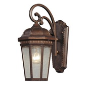 Hazelnut Bronze Outdoor Wall Sconce - MEK5726