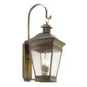 Oiled Rubbed Brass Outdoor Sconce - MEK5931