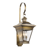 Oiled Rubbed Brass Outdoor Sconce - MEK5933