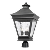 Charcoal Outdoor Post Light - MEK6377
