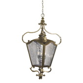 Castle Bronze Outdoor Pendant - MEK6397