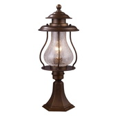 Coffee Bronze Outdoor Post Light - MEK6517