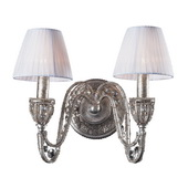 Sunset Silver Wall Sconce - MEK6520