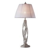 Sunset Silver Table Lamp - MEK2235