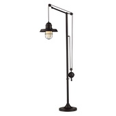 Oiled Bronze Floor Lamp - MEK2239