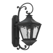Charcoal Outdoor Sconce - MEK6818