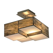 Click to View All Semi-Flush Mount