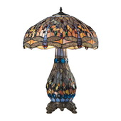 Tiffany Bronze Table Lamp - MEK2249