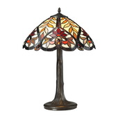 Tiffany Bronze Table Lamp - MEK2251