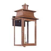 Aged Copper Gas Wall Lantern - MEK7010