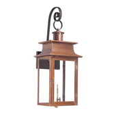 Aged Copper Gas Wall Lantern - MEK7012