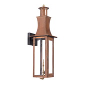 Aged Copper Gas Wall Lantern - MEK7014