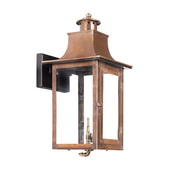 Aged Copper Gas Wall Lantern - MEK7018