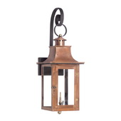 Aged Copper Gas Wall Lantern - MEK7020