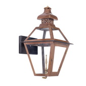 Aged Copper Gas Wall Lantern - MEK7022