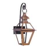 Aged Copper Gas Wall Lantern - MEK7024