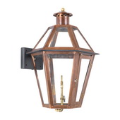 Aged Copper Gas Wall Lantern - MEK7026