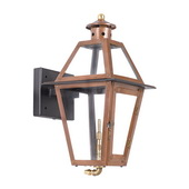 Aged Copper Gas Wall Lantern - MEK7030