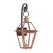 Aged Copper Gas Wall Lantern - MEK7036