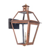 Aged Copper Gas Wall Lantern - MEK7038
