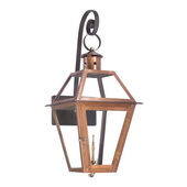 Aged Copper Gas Wall Lantern - MEK7040