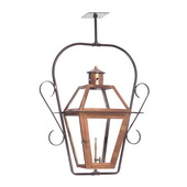 Aged Copper Gas Ceiling Lantern - MEK7041
