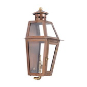 Aged Copper Gas Wall Lantern - MEK7042