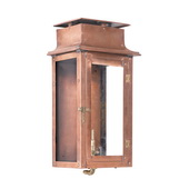 Aged Copper Gas Wall Lantern - MEK7043
