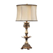 Sussex Stone With Gold Table Lamp - MEK2285