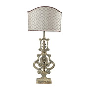 Avignon White Table Lamp - MEK2305