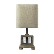 Montauk Grey Mini Lamp - MEK2306