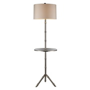 Silver Plated Floor Lamp - MEK2334