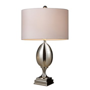 Chrome Plated Glass Table Lamp - MEK2346
