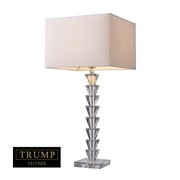 Clear Crystal Table Lamp - MEK2367